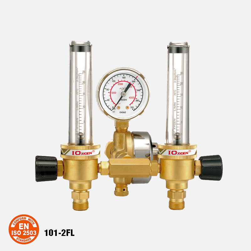 101-25FL Dual Flowmeter Regulators